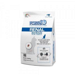 Forza10 Cat Renal Active диета сухой корм для взрослых кошек при почечной недостаточности 0,454кг