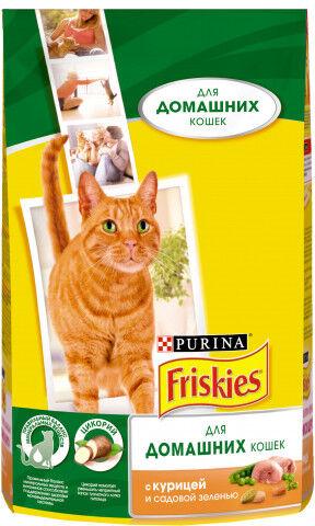 Friskies Indoor сухой корм для домашних кошек 1,5кг АКЦИЯ!
