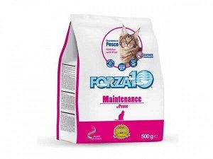 Forza10 Cat Maint Pesce сухой корм для взрослых кошек Рыба 0,5кг