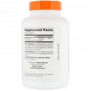 Doctor&#x27 - s Best, 100% хелатированный легкоусвояемый магний с Albion Minerals, 100 мг, 240 таблеток