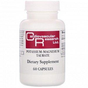 Cardiovascular Research, Таурат калия-магния, 60 капсул