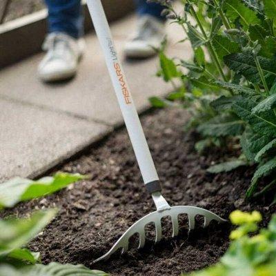 Новые поступления! Семена Партнёр, все для сада, дома, семьи —  Fiskars — Садовые инструменты