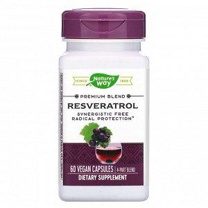 Nature&#x27 - s Way, Resveratrol, 60 Vegan Capsules