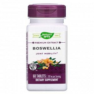 Nature&#x27 - s Way, Босвеллия, стандартизированная, 60 таблеток