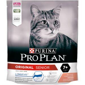 Pro Plan Original Senior 7+ сухой корм для кошек старше 7 лет Лосось 400гр
