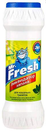 Mr.Fresh Порошок Ликвидатор запаха для кошачьих туалетов 500г АКЦИЯ!