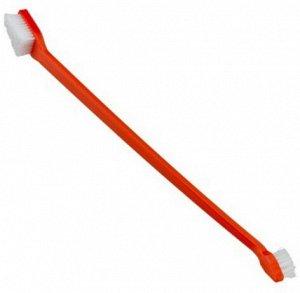 Зубная щетка двусторонняя для чистки зубов 19см GRO 5939