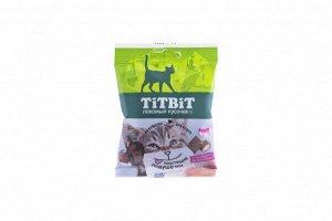 Титбит Titbit Хрустящие подушечки для кошек с паштетом из говядины 30г