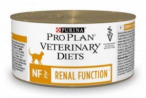 Purina Renal Function NF диета влажный корм для кошек при Почечной недостаточности 195гр консервы