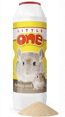Little One Песок для купания шиншилл 1кг банка