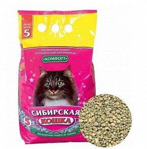 Сибирская Кошка Комфорт 7л впитывающий