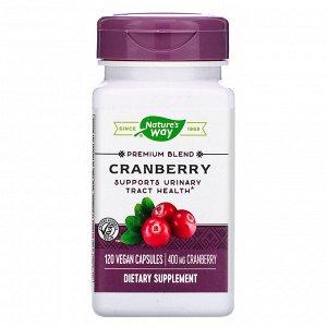 Nature&#x27 - s Way, Cranberry, 400 mg, 120 Vegan Capsules