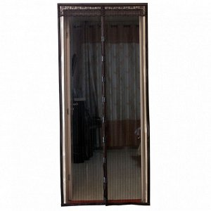Сетка антимоскитная универсальная 100x220см с магнитными замками УТ-4000 черная