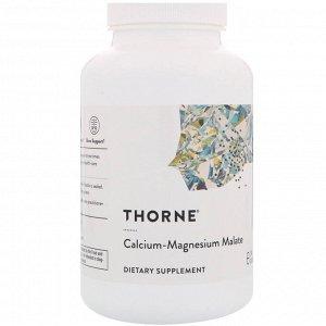 Thorne Research, Кальций-магний малат, 240 капсул