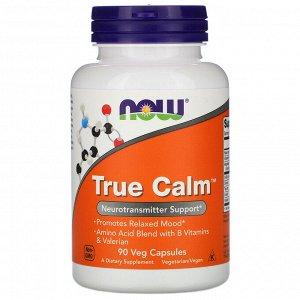 Now Foods, True Calm, 90 растительных капсул