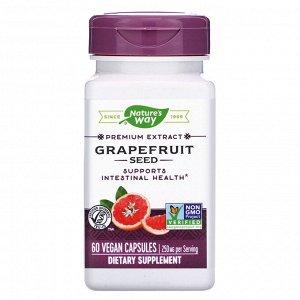 Nature&#x27 - s Way, Grapefruit Seed, 250 mg, 60 Vegan Capsules