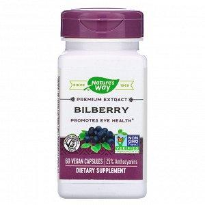 Nature&#x27 - s Way, Bilberry, 60 Vegan Capsules