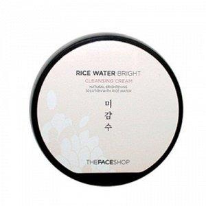 Мягкий очищающий крем для умывания The Face Shop Rice Water Bright Cleansing Cream, 200ml