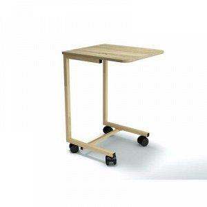 Столик мобильный 450х500х695 Дуб сонома