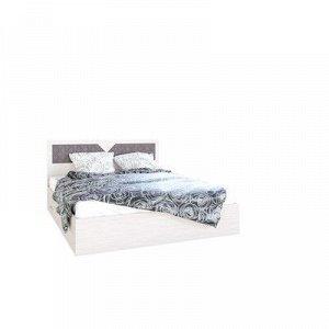 Кровать Николь, 1600х2000, Ясень шимо светлый/Лиственница темная