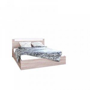 Кровать двуспальная, 1600х2000, Ясень шимо светлый/Ясень шимо темный