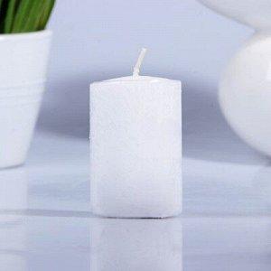 Свеча парафиновая цилиндр белая 40 Н-60