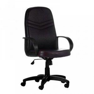 """Кресло руководителя """"Стандарт"""", экокожа, коричневое МК-053"""