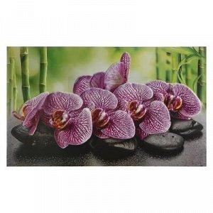 """Кухонный фартук """"Орхидея ванда"""", 1000x600x0,5"""