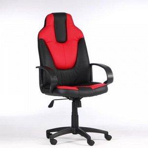 """Кресло игровое """"Neo1"""", экокожа, черный/красный"""