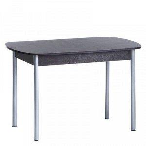 Стол универсальный Эконом 1145/1415х680х750 Металик серый/Венге