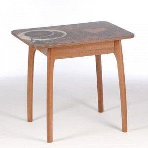 Стол прямоугольный Кофе-24 800х600х740 Орех гварнери/массив