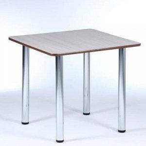 Стол обеденный квадратный 800х800, Ясень шимо светлый
