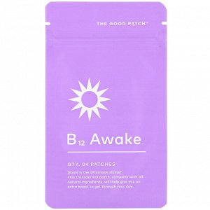The Good Patch, B12 Awake, 4 Patches