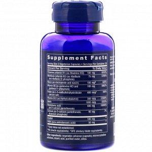 Life Extension, Биоактивный комплекс витаминов группы B, 60 вегетарианских капсул