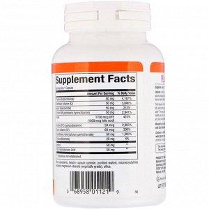Natural Factors, Hi Potency B Complex, 90 капсул