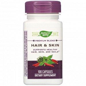 Nature&#x27 - s Way, Hair & Skin, 100 Capsules