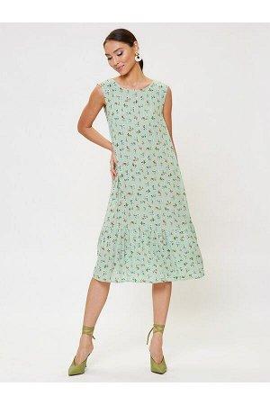 Платье арт. 2003-05-52225-1 зеленый