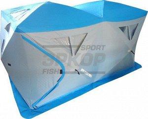 Палатка рыбака СВВ Ice Cube Pro 6 4-6 мест разм 355,6х177,8х203,2 см стёганая