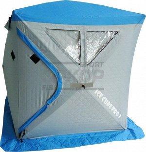 Палатка рыбака СВВ Ice Cube Pro 3 2-3 места разм 177,8х203,2х177,8 см стёганая
