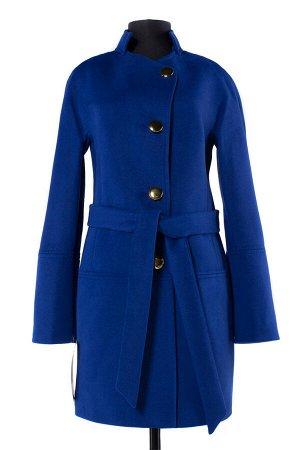 *Пальто женское демисезонное (пояс). Цвет Черный