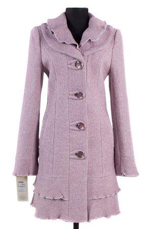 Пальто женское демисезонное. Цвет Розовый