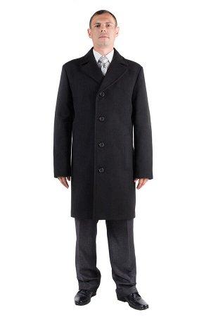 *Пальто мужское демисезонное (Рост 176). Цвет Черный