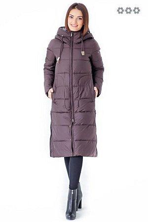 Пальто женское. Цвет Кофе