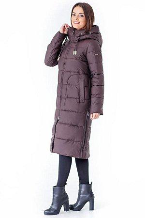 *Пальто женское. Цвет Кофе