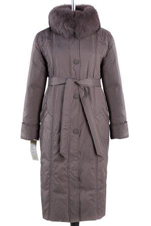Куртка зимняя (пояс). Цвет Кофе