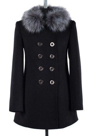 *Пальто женское утепленное. Цвет Шоколад