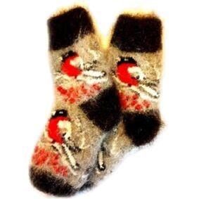 Обувь, трикотаж, белье, украшения, пальто. Элитный чай! — Теплые варежки, носки — Вязаные варежки