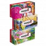 """Салфетки бумажные """"Maneki"""" DREAM 2 слоя, белые, 200 шт/1шт"""