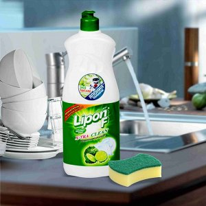 "LION ""Lipon"" Средство для мытья посуды  500мл (пуш-пул)  Лимонный чай"