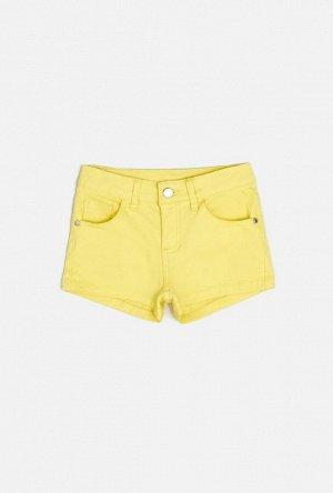 Шорты детские для девочек Rein лимонный